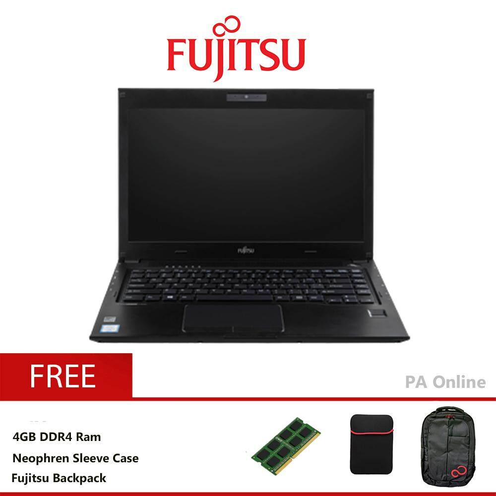 Fujitsu Lifebook U536 -8GB /Intel Core i3-6100u/8GB/500GB HDD/Intel HD 520/13.3 HD/Win 10/1 Years Malaysia