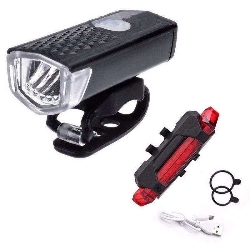 Lampu Sepeda Sepeda Usb Led Perangkat Yang Dapat Diisi Ulang Daya Sepeda Gunung Depan Belakang Lampu By Cherful655.