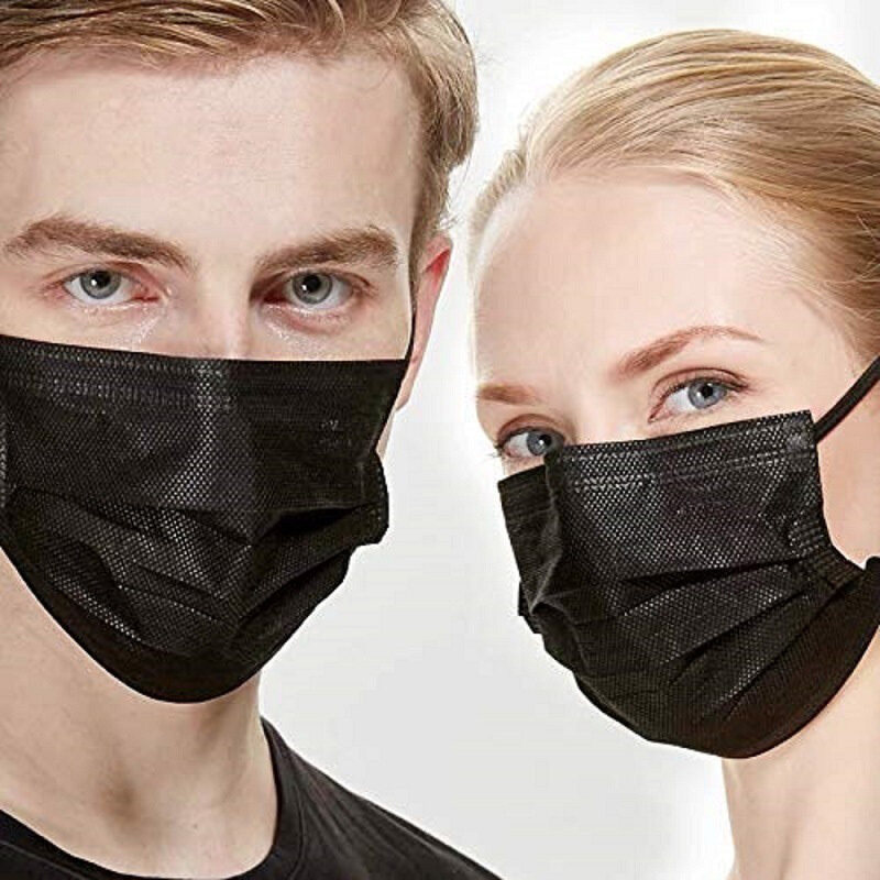 [Homesty] [Free Shipping] [Spot] [COD] 1PC/10PCS Mask Face Cotton Mouth Face Protection Anti Dust Mask Windproof Three Layer Face shield Independent Packaging