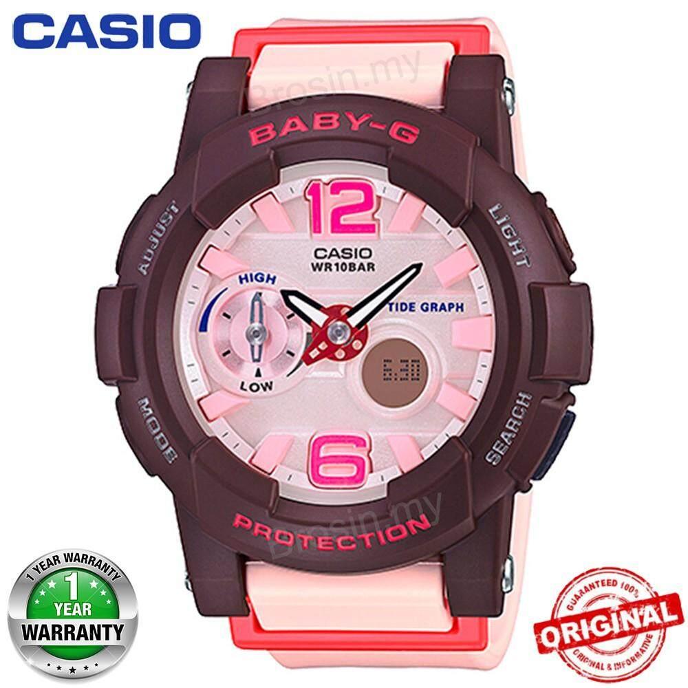(Ready Stock) Casio_Baby_G_BGA-180 Women Watch for Sports Pink BGA 180 4B4PR Malaysia