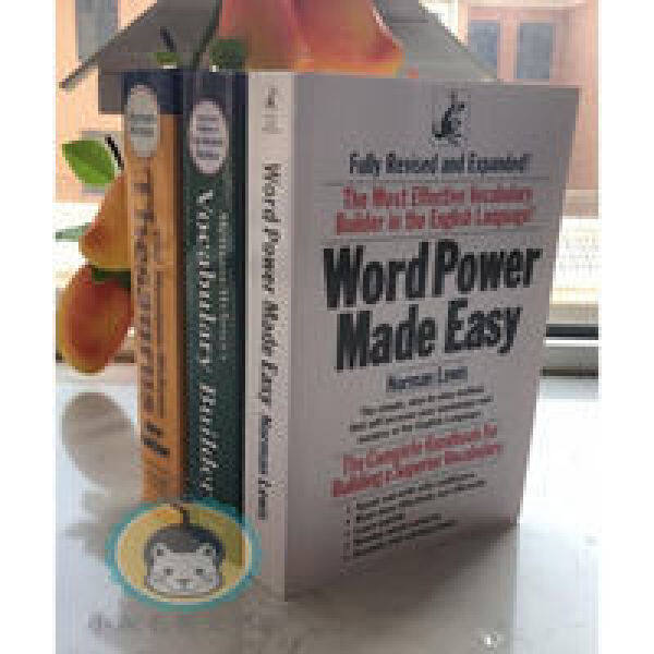 The Merriam-Webster Sambo (Wei Huang + Wei Green) Words of Power Word Power Made Easy 3 Books