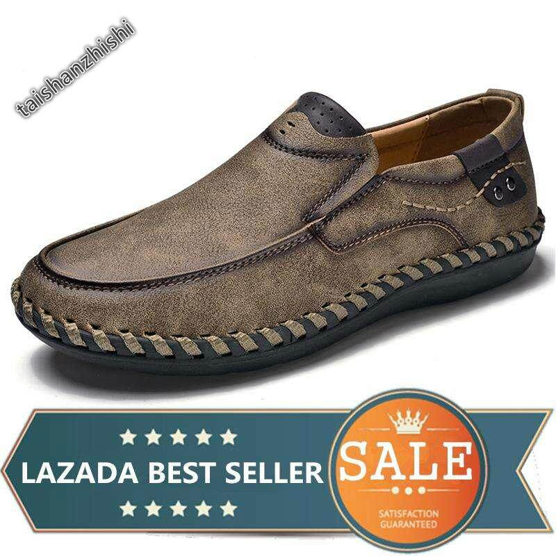 af8eb74f21738 Men Leather Shoes Mens Loafers Moccasins Casual Shoes For Driving Shoes Big  Size 38-46