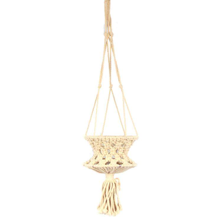 plant hanger wall hanging, plant basket, cotton rope home decoration