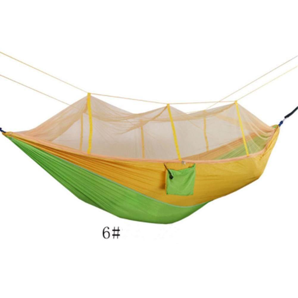 TS Cho 1-2 Người Di Động Cao Cấp Vải Dù Võng Với Lưới Chống Muỗi Cho Cắm Trại Ngoài Trời