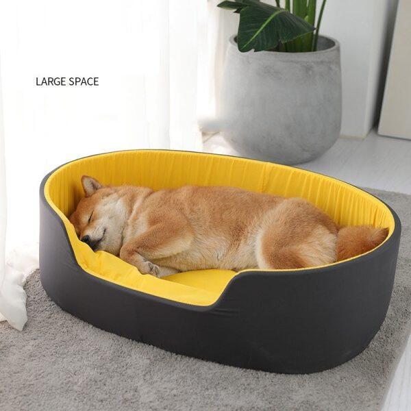 1 Cái Ổ Có Thể Giặt Được Giường Thú Cưng Cho Chó Nhà Cho Mèo Giường Dành Cho Chó Cho Chó Lớn Vật Nuôi Sản Phẩm Cho Chó Puppy Đệm Mat Lounger Băng Ghế Sofa