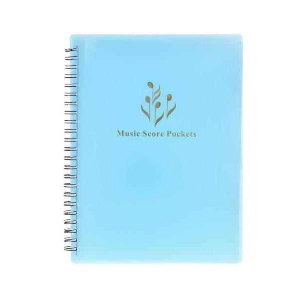 Multifunctional Music Score Holder A4 Size with 40 Pockets black Malaysia