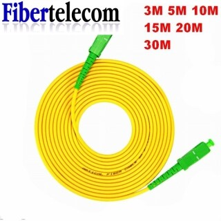 Fiber Optic Jumper Cable 3M 5M SC APC Simplex Mode Fiber Optic Patch Cord Cable SC APC 3.0mm FTTH Fiber Optic Jumper Cable Indoor Fiber Optic Patch Cord thumbnail