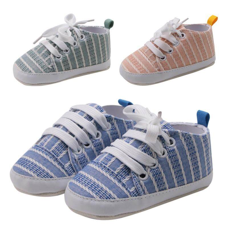 Infant Baby Shoes Sneakers Girls Boys Canvas Casual Toddler Anti-Slip Shoes BW