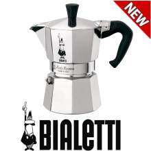 Bialetti Moka Express 6-Cup Stovetop Espresso Maker(Silver)