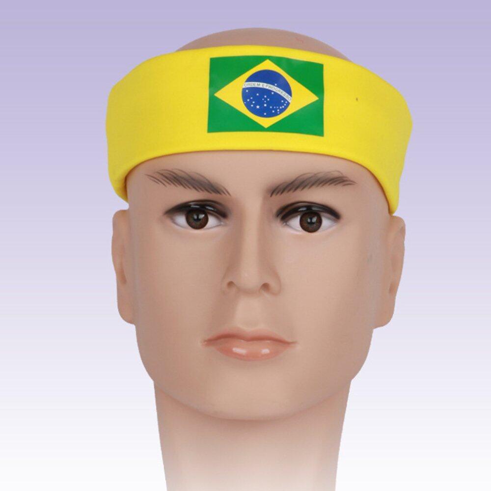Hình ảnh BolehDeals Women Men Sport Sweat Sweatband Headband Hair Band Yoga Fashion Brazil - Intl