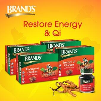 BRAND'S® Essence of Chicken with Cordyceps (4 x 6's) - 24 bottles x 70gm