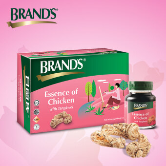 BRAND'S® Essence of Chicken with Tangkwei Single Pack (6's) - 6 bottles x 70gm