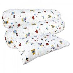 Bumble Bee Bolsters & Pillows Extra Covers Set (fun Time) By Baby Land.