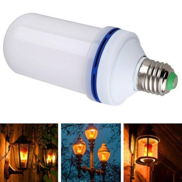 Bóng Đèn LED Lửa Hiệu Ứng Ngọn Lửa, Đèn Nhấp Nháy Tự Nhiên Mô Phỏng Đám Cưới Kiểu Dáng