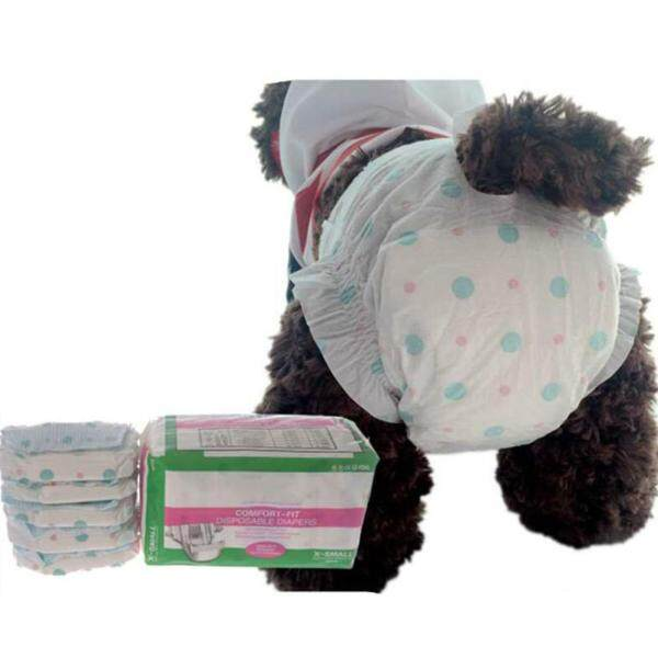 Beny MALL®10 Chiếc Quần Sinh Lý Cho Chó Cưng Dùng Một Lần, Vệ Sinh Tã Lót Tã: XS