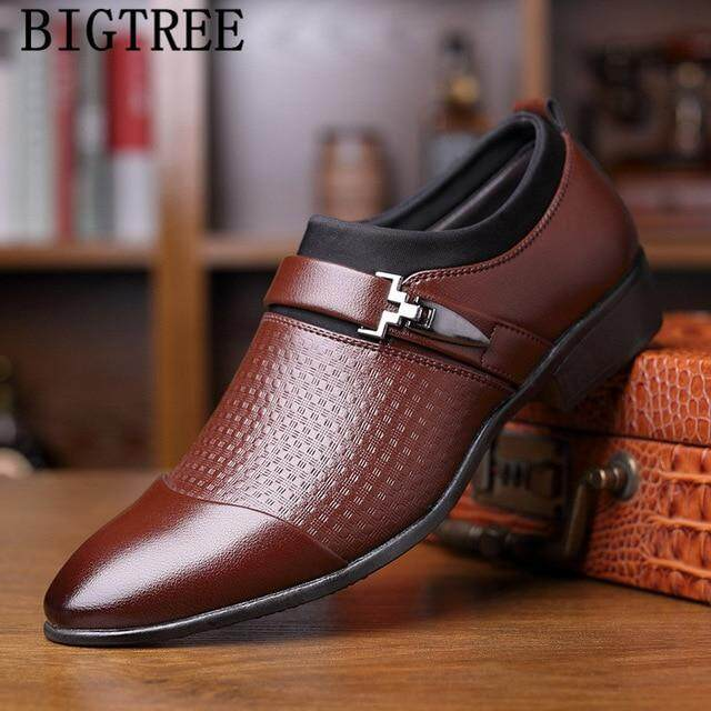Oxford Shoes For Men Loafers Slip On Men Dress Shoes Business Shoes Zapatos De Hombre De Vestir Formal Shoes Men Sapato Social By Qingquanwan.