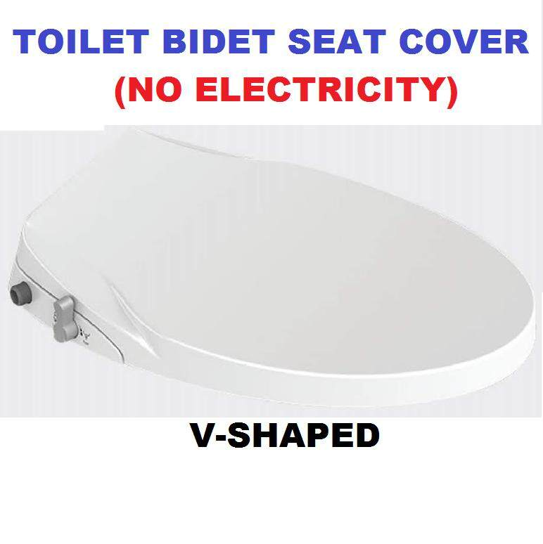 Toilet Bidet Seat Covers V-SHAPED
