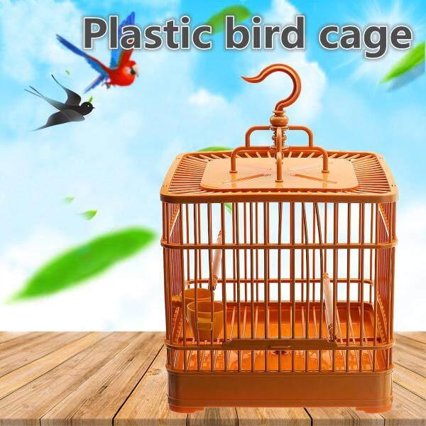 Chim Treo Ăn Giá Đỡ Lồng Nhựa Ống Pawmits Chim Ăn Lồng Tàu Sân Bay