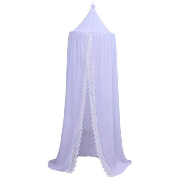 Ins explosion models Nordic home children chiffon lace tent baby mosquito net baby bed decoration 60cm x 240cm