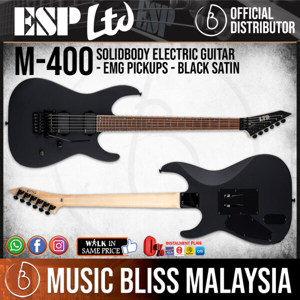 ESP LTD M-400 - Black Satin (M400BLKS) Malaysia