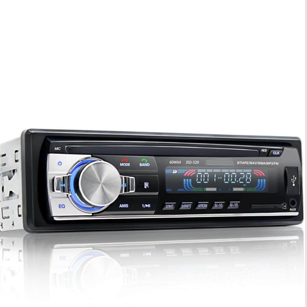 PRADO Malaysia Chuyên Nghiệp Bluetooth USB Radio Stereo Đầu Đơn Vị Người Chơi MP3/USB/SD/AUX/FM WT Điều Khiển từ xa Đen
