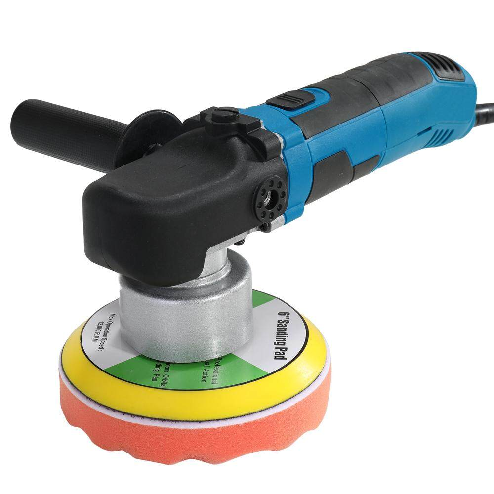 220V-240V 680W Adjustable Speed Dual Action Car Polishing Machine Shock Polisher Sealing Glaze Waxing Machine EU Plug