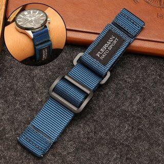 Dây Đồng Hồ Nato Nylon Hàng Đầu Bán Chạy Cho S-Eiko Số 5 007 Loạt Thể Thao Watchband Dây Đeo Đồng Hồ Nato Velcro 20Mm 22Mm 24Mm thumbnail