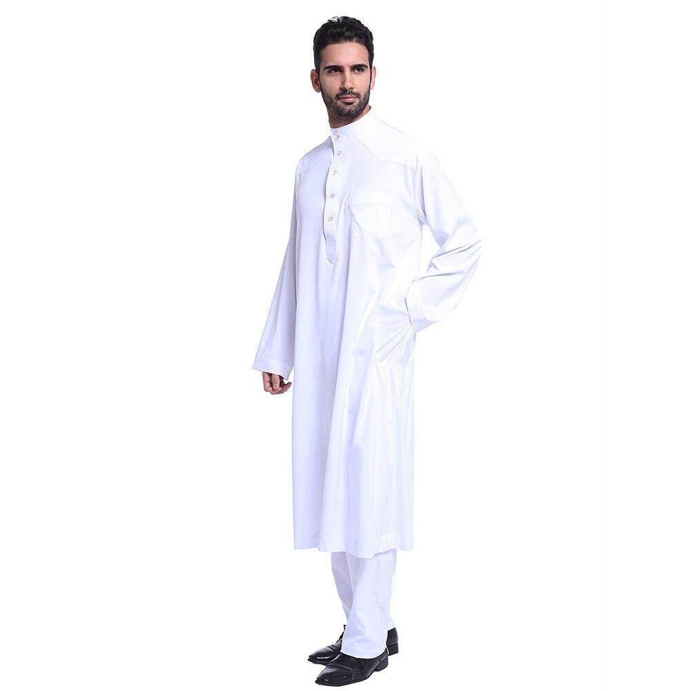 อาหรับมุสลิมตะวันออกกลางชาย Robe ชุดยาว By Qic Trade.