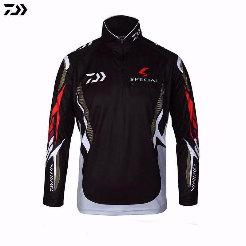 2380abe64d Fishing Clothing Vests Quick-Drying Anti-UV Sun fishing Shirt Sports  Clothes Long Sleeve