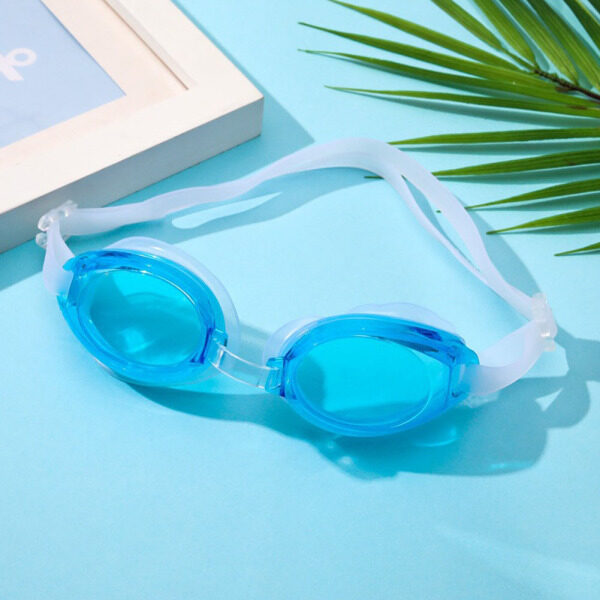 Giá bán Kính Bơi Trẻ Em Kuulee Kính Bảo Vệ Mắt Công Viên Nước Chống Sương Mù HD Với Nút Tai