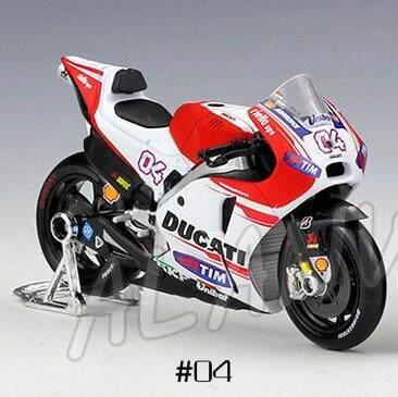 1:18 Motorcycle Ducati Diecast Metal Model MotoGP Race Collection Kids Toy Gift