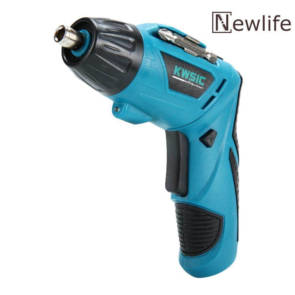 Newlifestyle 4.8V Cordless Electric Screwdriver Rechargeable Mini Hand Drill Power Drill