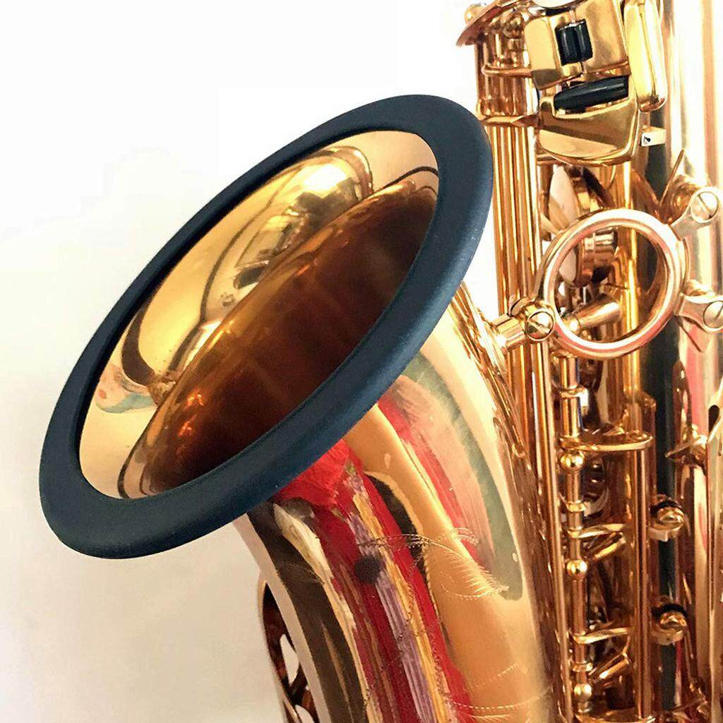 Baoblaze Tenor Saxophone Tắt Tiếng Vòng Sax Silincer Máy Tạo Protecor Vòng Phụ Kiện