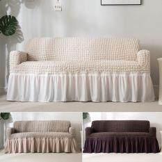 Skysea Bọc Ghế Sofa Toàn Bộ Với Váy Đàn Hồi 3 Kích Thước Rắn Châu Âu Polyester Đơn Đôi Ba Chỗ Ngồi Cho Phòng Ngủ Phòng Khách Áo Phủ Ghế Trường Kỷ