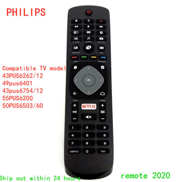 Bảng giá Điều Khiển Từ Xa Chính Hãng Mới Cho TV PHILIPS HOF16H303GPD24 NETFLIX Fernbedienung 398GR08BEPHN0011HL Cho 43PUS6262/12