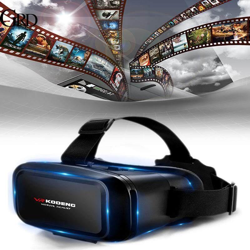 Grand Store Ống Kính Phi Cầu Kodeng Phổ Thông Kính VR 3D Kính Thực Tế Ảo Tai Nghe VR Kính Phim Du Lịch Trò Chơi 3D 4.5 ~ 6 Inch Điện Thoại Thông Minh Điện Thoại Di Động Trang Chủ Bất Ngờ Giảm Giá