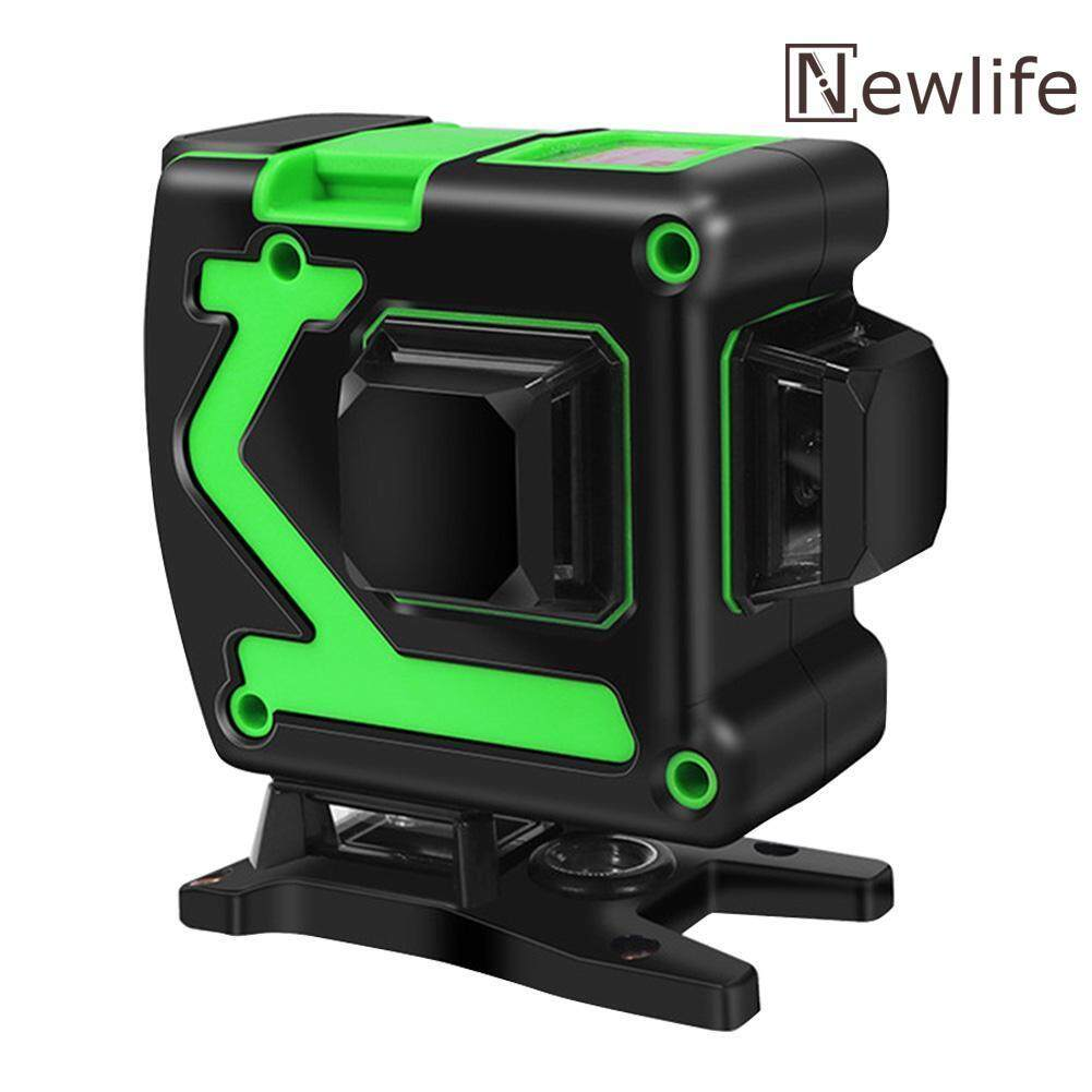 Newlifestyle High Precision 12 Lines 3D Level Self-Leveling Green Infrared Laser Level