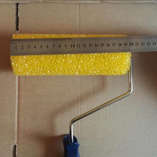Gazechimp Sponge Lăn Sơn Vẽ Tay Áo Dụng Cụ Trang Trí Trang Chủ DIY-Vàng