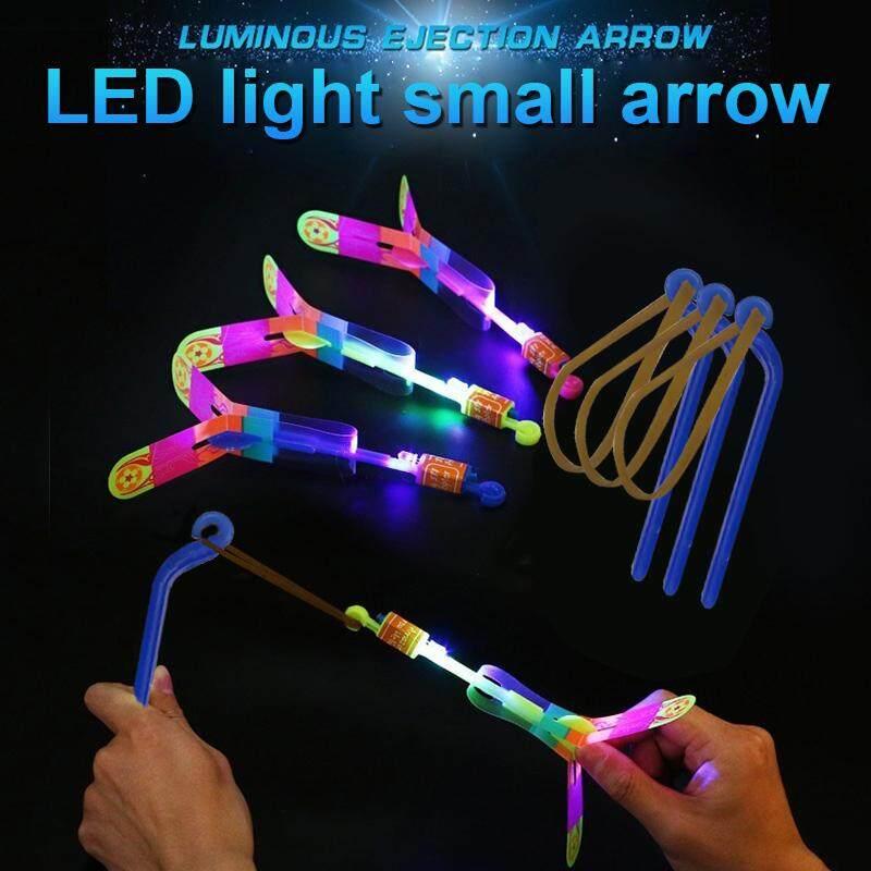 3 Cái/bộ LED Mũi Tên Tên Lửa Xoay Bay Đồ Chơi Ngoài Trời Nhấp Nháy Bay Trực Thăng Đồ Chơi Cho Trẻ Em Giá Sốc Không Thể Bỏ Qua
