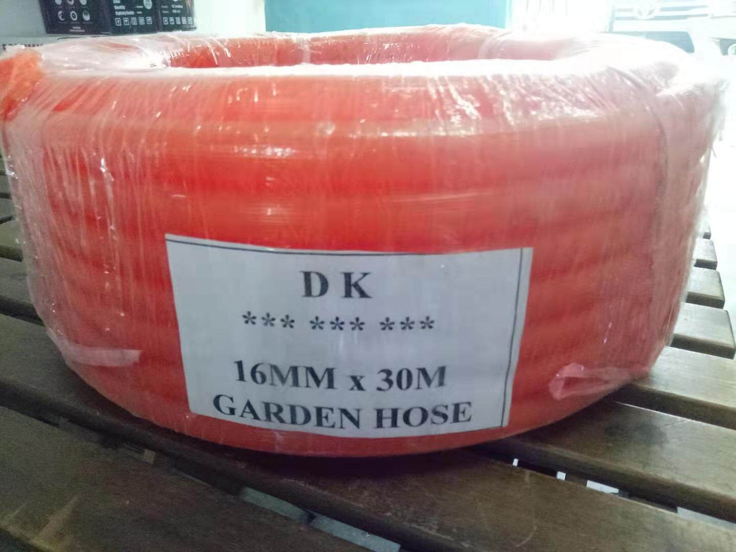 Orange Garden Hose - 30 meters (16mm X 2mm)