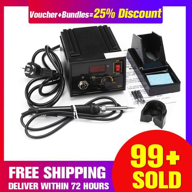 【Free Shipping + Super Deal + Limited Offer】967 Electric Rework Soldering Station Iron LCD Display Desoldering Kit 110V 220V