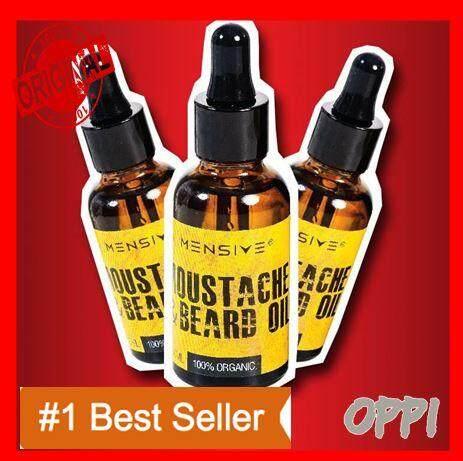 【berkesan】 Mensive Moustache Dream Beard Oil (mbo) Beard Hair Growth 30ml / Pelebat Jambang (100% Guarantee) Original Hq By Oppi.
