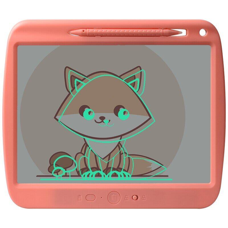 Máy Tính Bảng Viết USB LCD Trong Suốt Sạc Được 9-Inch Bảng Vẽ Graffiti Cho Trẻ Em, Bảng Tin Ghi Chép Văn Phòng Tại Nhà