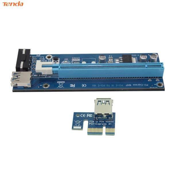 Bộ Mở Rộng Khai Thác BTC 4Pin PCI-E 1X Đến 16X, Cáp Chuyển Đổi Card Đồ Họa Riser