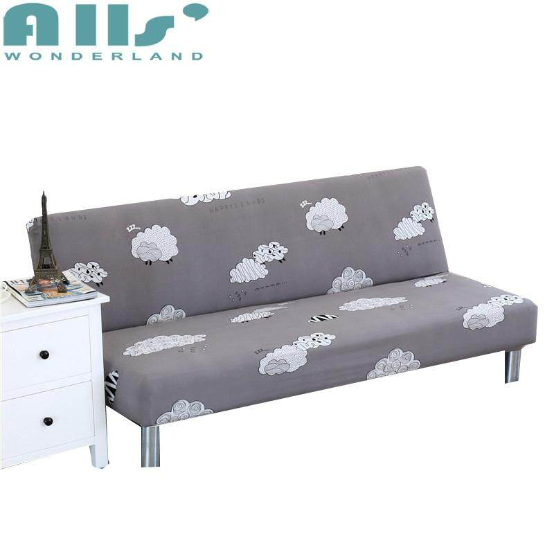 【Sofa Bed Cover】160-190cm Elasticity Folding No Handrail All-Inclusive Universal Slipcovers Sofa bed Cover Cartoon print