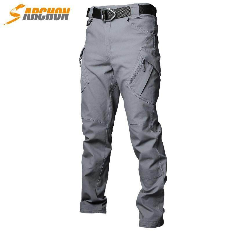 Ix9 Instructor Tactical Pants Male Loose Multi-Pocket Service Pants Overalls Multi-Legged Military Outdoor Army Fan Trousers By Dng Xin.