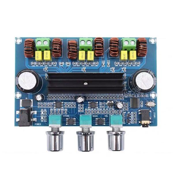 Bảng giá Bảng Mạch Khuếch Đại Loa Siêu Trầm Công Suất 2*50W + 100W Bluetooth 5.0 Dual TPA3116D2, Bộ Cân Bằng Âm Thanh Nổi TPA3116 2.1 Kênh Bộ Khuếch Đại AUX Phong Vũ