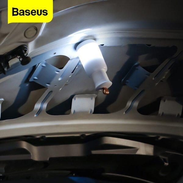 Baseus Phụ kiện Đèn chiếu sáng khẩn cấp Xe hơi Đèn lồng di động có thể sạc lại cho Nhà tự động Cắm trại Ánh sáng ban đêm Cảnh báo nhấp nháy Trường hợp khẩn cấp