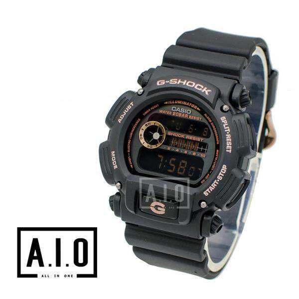 [100% Original G SHOCK]Casio G-Shock Special Color Models Black Resin Band Watch DW9052GBX-1A4 DW-9052GBX-1A4 (watch for man / jam tangan lelaki / casio watch for men / casio watch / men watch / watch for men) Malaysia