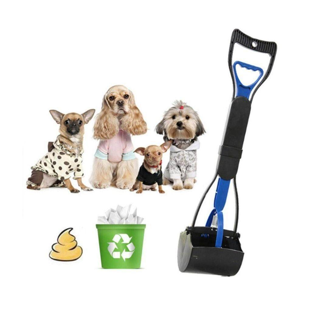 Portable Dog Pooper Scooper Pets Waste Picker Easy Cleaning Tools Handle Grabber By Aapooo.